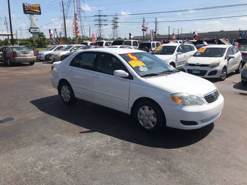 2005 Toyota Corolla for sale at Texas 1 Auto Finance in Kemah TX
