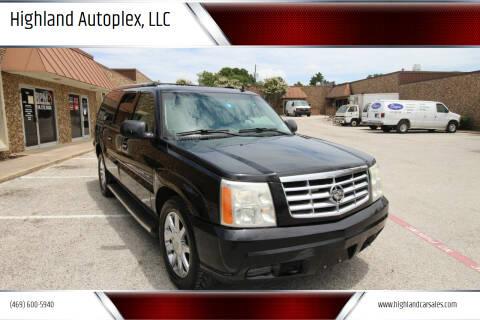 2006 Cadillac Escalade ESV for sale at Highland Autoplex, LLC in Dallas TX