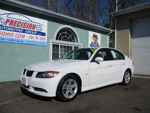 2008 BMW 3 Series for sale at Precision Automotive Group in Youngstown OH