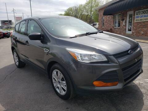 2016 Ford Escape for sale at Auto Choice in Belton MO