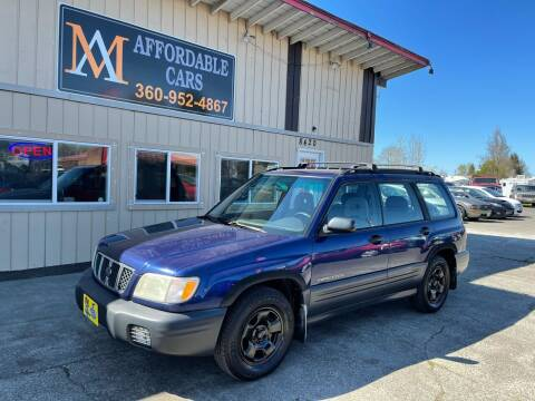2001 Subaru Forester for sale at M & A Affordable Cars in Vancouver WA