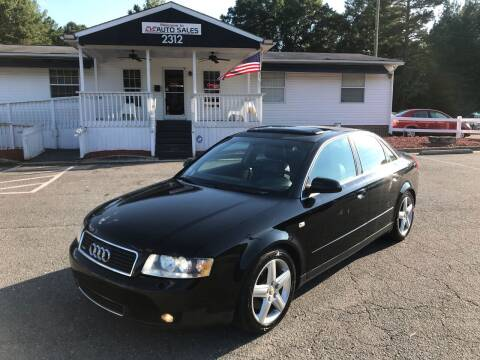 2003 Audi A4 for sale at CVC AUTO SALES in Durham NC