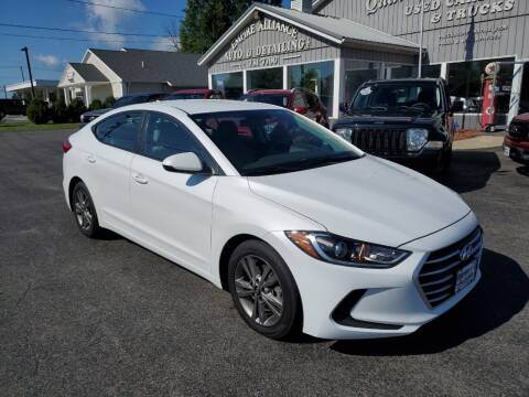 2017 Hyundai Elantra for sale at Empire Alliance Inc. in West Coxsackie NY