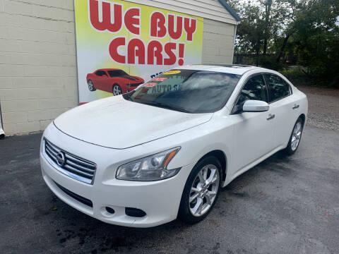 2013 Nissan Maxima for sale at Right Price Auto Sales in Murfreesboro TN