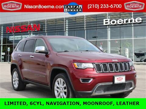 2017 Jeep Grand Cherokee for sale at Nissan of Boerne in Boerne TX