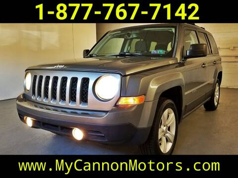 2013 Jeep Patriot for sale at Cannon Motors in Silverdale PA