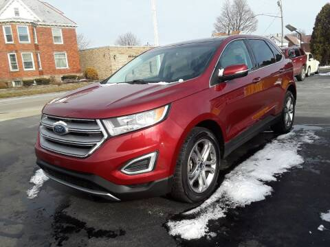 2015 Ford Edge for sale at Sarchione INC in Alliance OH