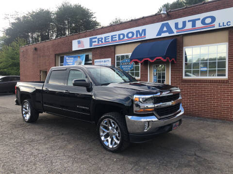 2016 Chevrolet Silverado 1500 for sale at FREEDOM AUTO LLC in Wilkesboro NC