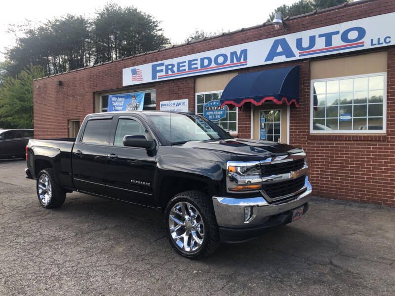 2016 Chevrolet Silverado 1500 for sale at FREEDOM AUTO LLC in Wilkesboro NC