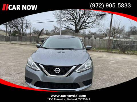 2017 Nissan Sentra for sale at Car Now Dallas in Dallas TX