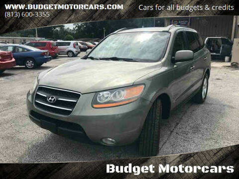 2008 Hyundai Santa Fe for sale at Budget Motorcars in Tampa FL