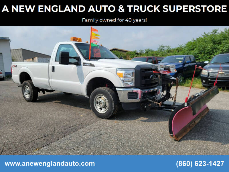 2015 Ford F-250 Super Duty for sale at A NEW ENGLAND AUTO & TRUCK SUPERSTORE in East Windsor CT