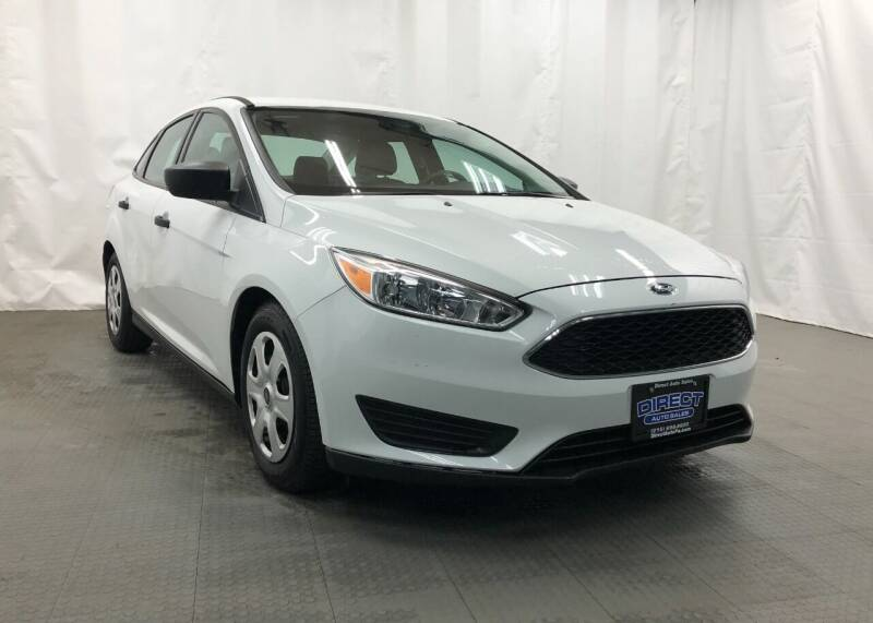 2016 Ford Focus for sale at Direct Auto Sales in Philadelphia PA