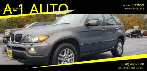 2006 BMW X5 for sale at A-1 Auto in Pepperell MA