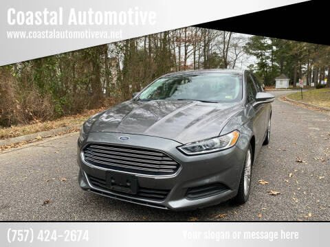 2013 Ford Fusion Hybrid for sale at Coastal Automotive in Virginia Beach VA
