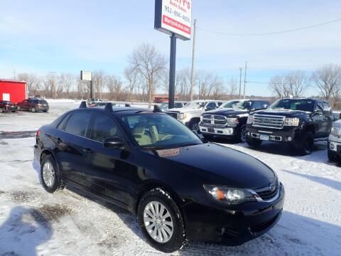 2008 Subaru Impreza for sale at Marty's Auto Sales in Savage MN