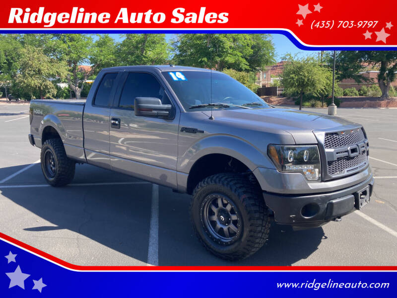 2014 Ford F-150 for sale at Ridgeline Auto Sales in Saint George UT