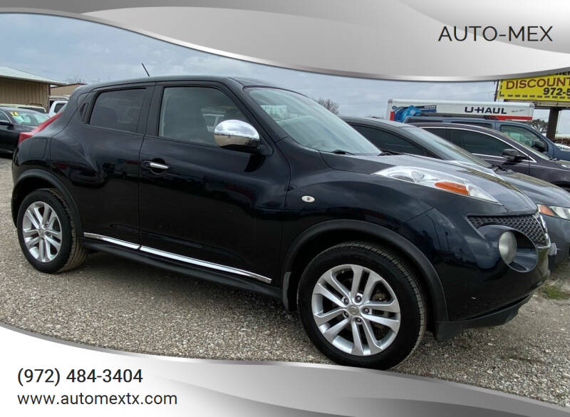 2011 Nissan JUKE for sale at AUTO-MEX in Caddo Mills TX