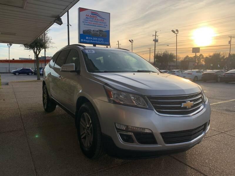 2015 Chevrolet Traverse for sale at Magic Auto Sales in Dallas TX
