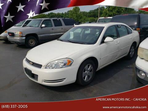 2006 Chevrolet Impala for sale at American Motors Inc. - Cahokia in Cahokia IL