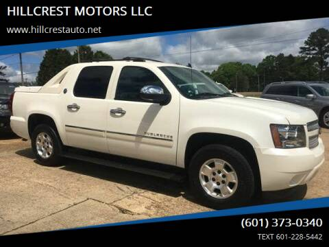 2013 Chevrolet Avalanche for sale at HILLCREST MOTORS LLC in Byram MS
