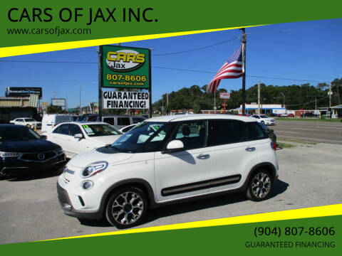 2014 FIAT 500L for sale at CARS OF JAX INC. in Jacksonville FL