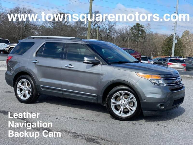 2014 Ford Explorer for sale at Town Square Motors in Lawrenceville GA