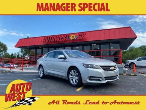 2018 Chevrolet Impala for sale at Autowest of GR in Grand Rapids MI