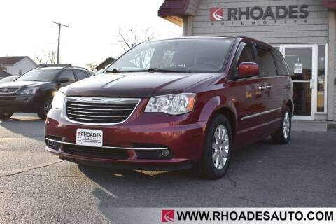 2015 Chrysler Town and Country for sale at Rhoades Automotive in Columbia City IN