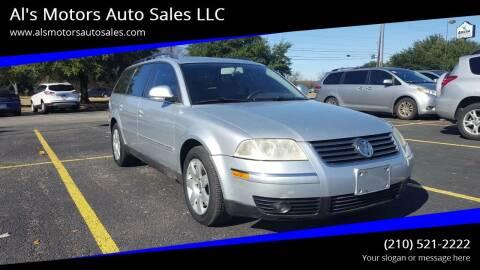 2005 Volkswagen Passat for sale at Al's Motors Auto Sales LLC in San Antonio TX