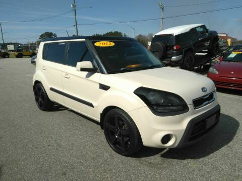 2012 Kia Soul for sale at Kelly & Kelly Supermarket of Cars in Fayetteville NC