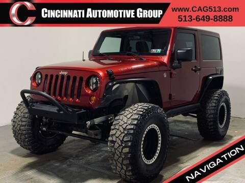 2012 Jeep Wrangler for sale at Cincinnati Automotive Group in Lebanon OH