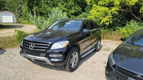 2015 Mercedes-Benz M-Class for sale at Clare Auto Sales, Inc. in Clare MI