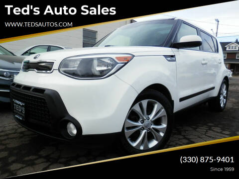 2015 Kia Soul for sale at Ted's Auto Sales in Louisville OH