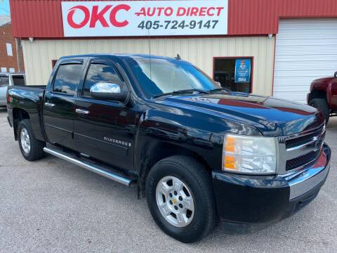 2008 Chevrolet Silverado 1500 for sale at OKC Auto Direct in Oklahoma City OK