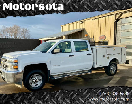2015 Chevrolet Silverado 2500HD for sale at Motorsota in Becker MN