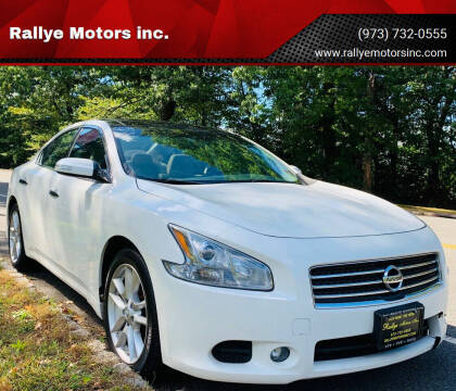 2011 Nissan Maxima for sale at Rallye  Motors inc. in Newark NJ
