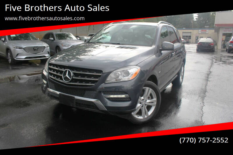 2012 Mercedes-Benz M-Class for sale in Roswell, GA