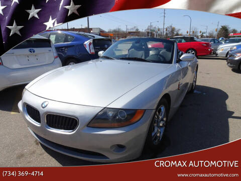 2003 BMW Z4 for sale at Cromax Automotive in Ann Arbor MI