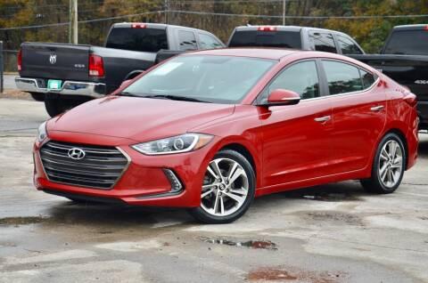 2017 Hyundai Elantra for sale at Marietta Auto Mall Center in Marietta GA