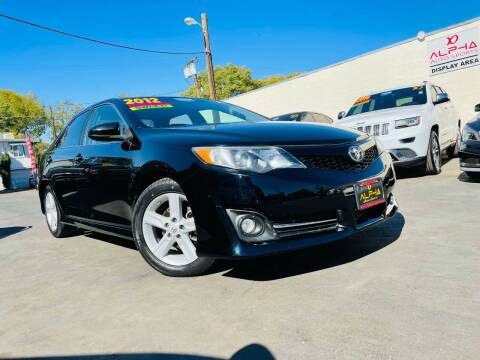 2012 Toyota Camry for sale at Alpha AutoSports in Roseville CA
