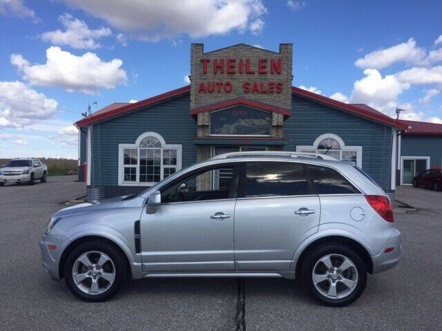 2015 Chevrolet Captiva Sport for sale at THEILEN AUTO SALES in Clear Lake IA
