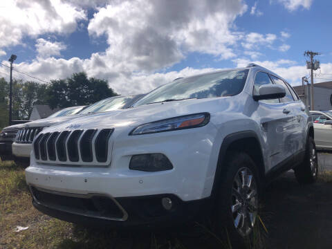 2014 Jeep Cherokee for sale at Top Line Import in Haverhill MA