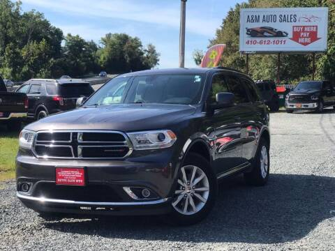 2014 Dodge Durango for sale at A&M Auto Sales in Edgewood MD