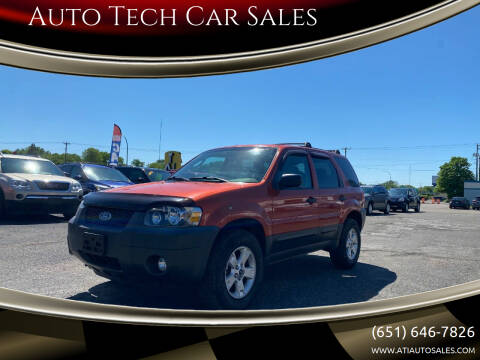 2007 Ford Escape for sale at Auto Tech Car Sales in Saint Paul MN