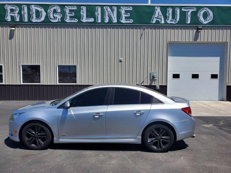 2013 Chevrolet Cruze for sale at RIDGELINE AUTO in Chubbuck ID