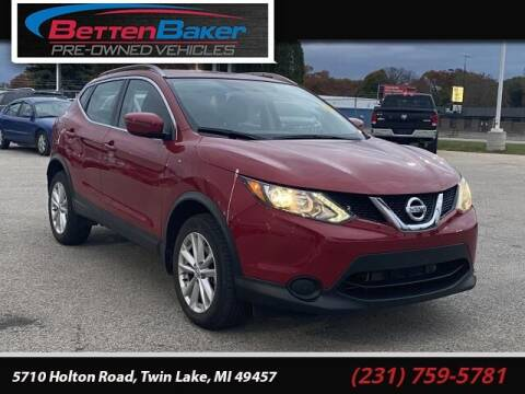 2017 Nissan Rogue Sport for sale at Betten Baker Preowned Center in Twin Lake MI