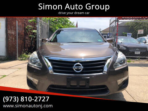 2013 Nissan Altima for sale at Simon Auto Group in Newark NJ
