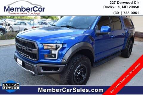 2018 Ford F-150 for sale at MemberCar in Rockville MD