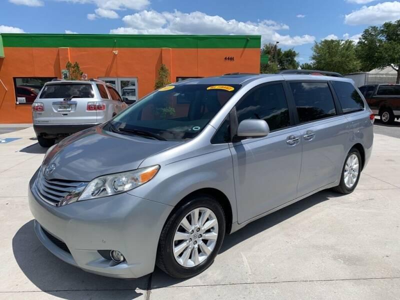 2011 Toyota Sienna for sale at Galaxy Auto Service, Inc. in Orlando FL